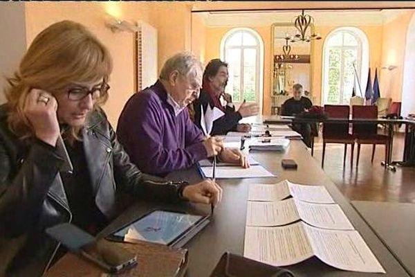 29/01/15 - Corte, réunion de la Commission du développement économique de l'Assemblée de Corse