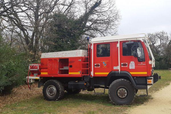 Les pompiers du Gard étaient mobilisés sur trois incendies ce 11 juillet.