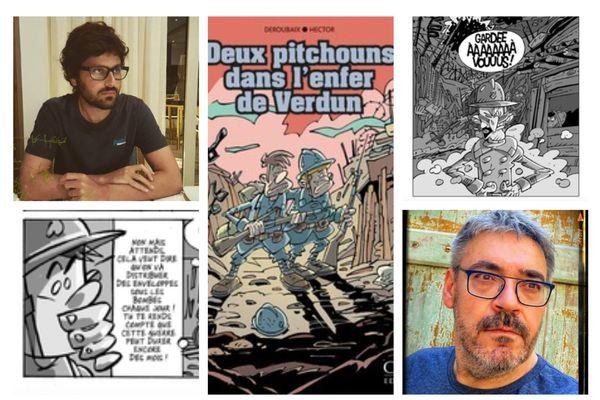 """""""Deux pitchouns dans l'enfer de Verdun"""", Régis Hector, Marc-Antoine Deroubaix (Orep Éditions)"""