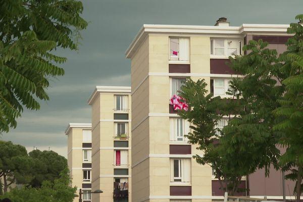 Le quartier du Petit-Bard à Montpellier