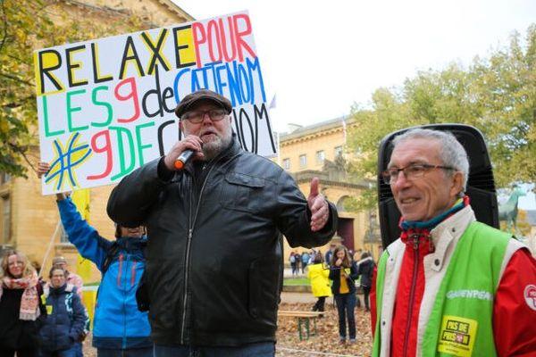 Yannick Rousselet, chargé de campagne nucléaire chez Greenpeace est poursuivi alors qu'il n'était pas présent sur l'action à Cattenom.