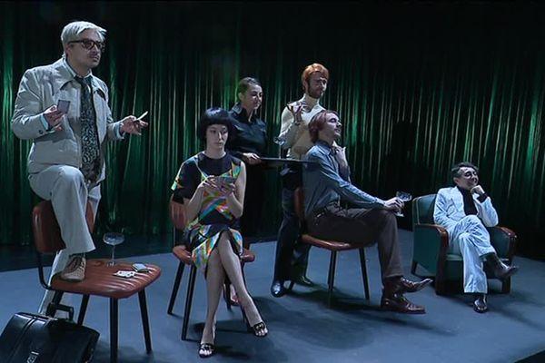 """Le festival Ecritures partagées s'ouvre avec la pièce """"Le Bonheur (n'est pas toujours drôle)"""", au théâtre d'Hérouville. (Capture d'écran)"""