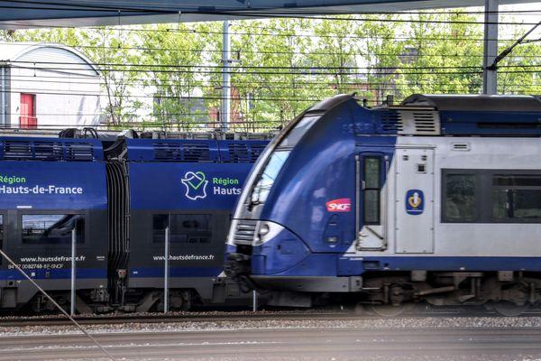 Un TER Hauts-de-France