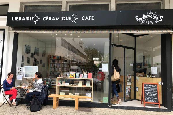 La librairie Fracas à Lorient