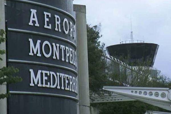 La tour de contrôle de l'aéroport Montpellier Méditerranée