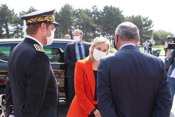 Agnès Pannier-Runacher, ministre déléguée à l'Industrie en visite chez ArcelorMittal ce jeudi