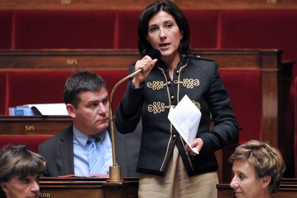 Sandrine Mazetier à l'assemblée nationale