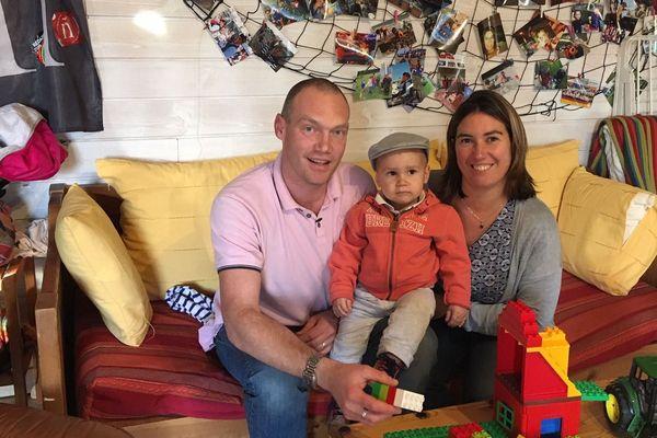 La famille de Fañch, ravie de la décision de la Cour d'appel du 19 novembre.