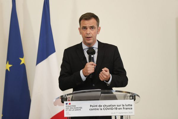 Olivier Véran, le 17 septembre 2020.