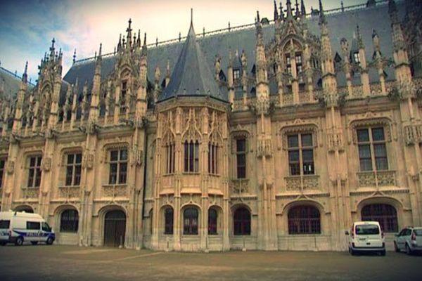 Palais de justice de Rouen.