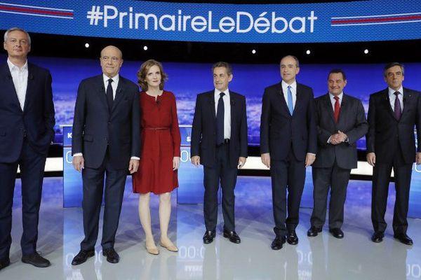 Les sept candidats à la primaire de la droite