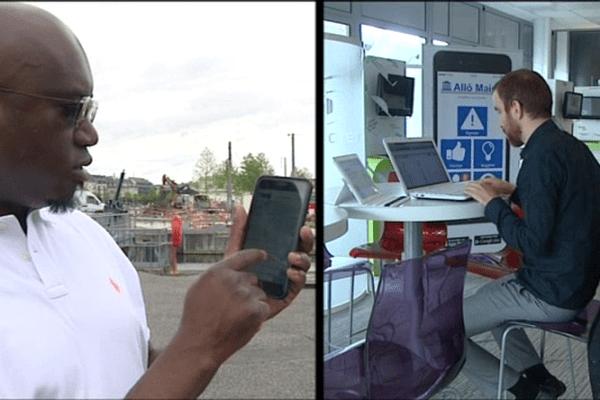 """Les signalements envoyés via l'application """"allô mairie"""" sont directement acheminés vers le services techniques concernés de la commune"""