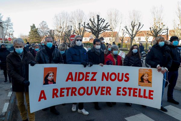 Marche en hommage à Estelle Mouzin ce samedi 9 janvier à Guermantes.
