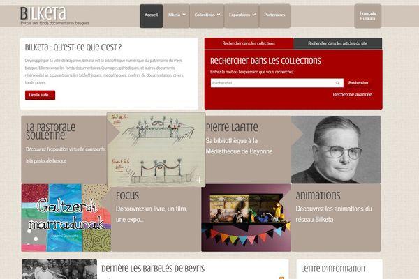 Bilketa, le portail internet de la culture basque
