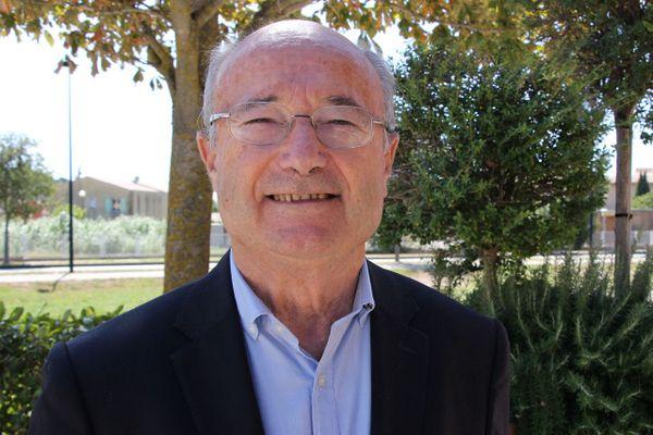 Jacques Bompard, maire sortant et candidat Ligue du Sud aux élections municipales 2020 pour la ville d'Orange.