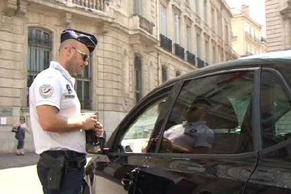 Opération de contrôles dans les rues de Marseille