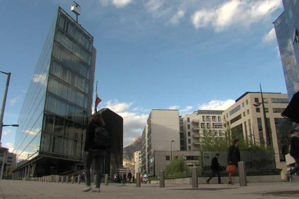 Le palais de justice de Grenoble - Photo d'illustration.