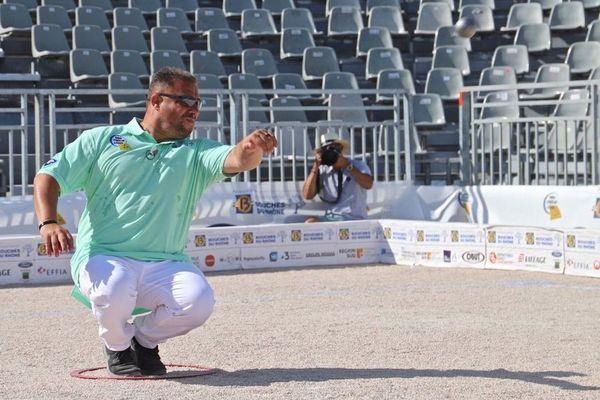 Vainqueur du Mondial La Marseillaise à pétanque 2019, Patrick Messonnier, déjà finaliste en 2015.