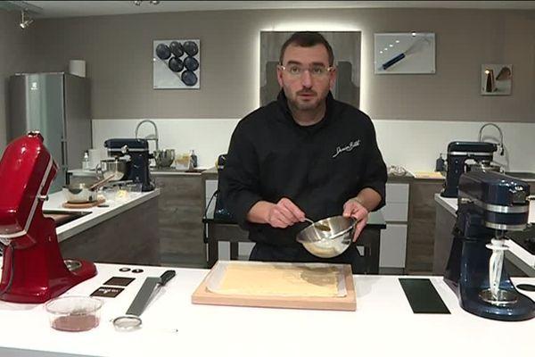 Remerciements à Damien Benetot, pâtissier à Dole.