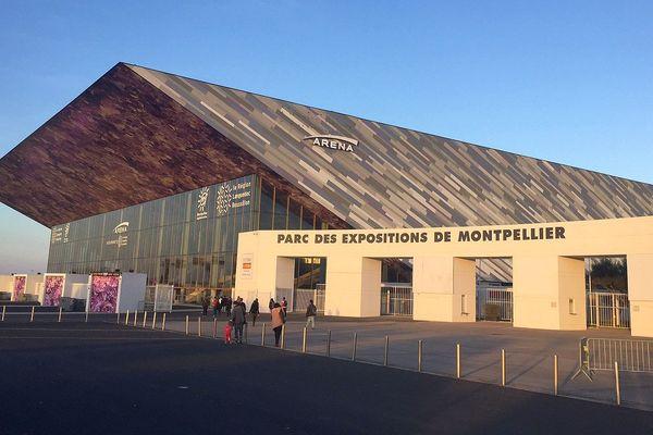 Montpellier - la salle Arena au parc des expositions - mars 2017.