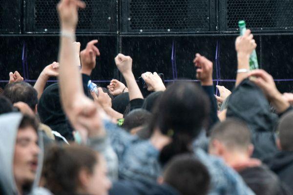 Une rave party - Photo d'illustration