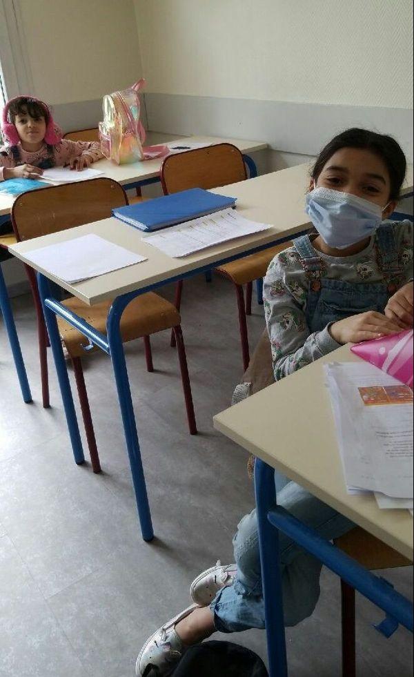 Le soutien scolaire en présentiel a repris ce jeudi 14 Mai, pour les enfants qui ne vont pas à l'école
