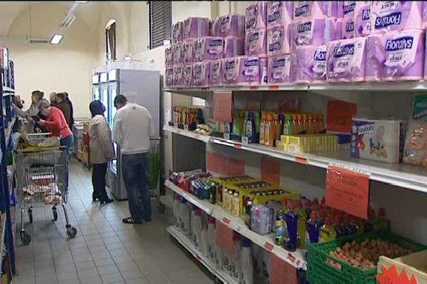 L'épicerie solidaire de Haguenau accueille près de 1000 bénéficiaires chaque année.