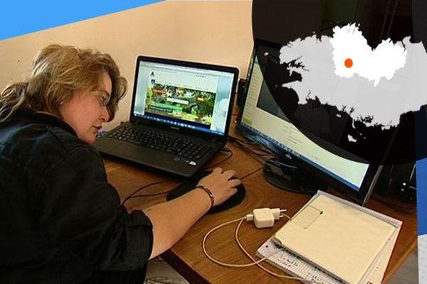 Le télétravail facilite la tâche à Magalie dont l'entreprise est basée à Spézet