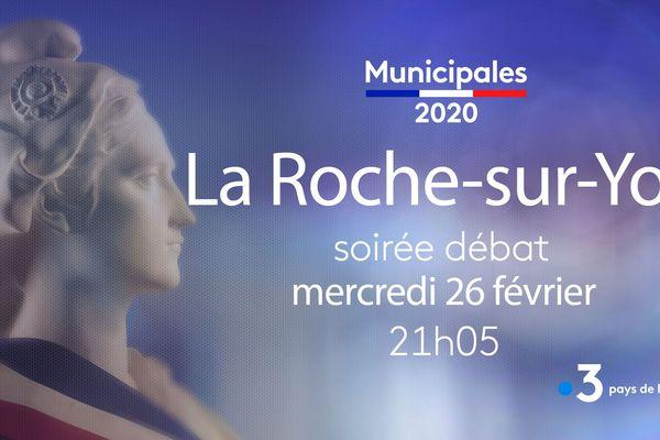 Mercredi 26 février, débat sur les Municipales 2020 à La Roche-sur-Yon