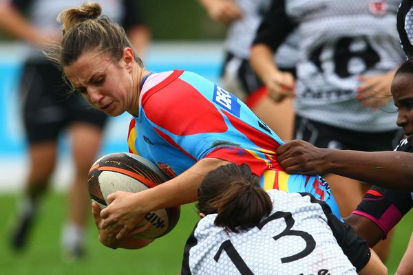 Rugby à XV, Usap Féminines contre Stade toulousain, novembre 2015.