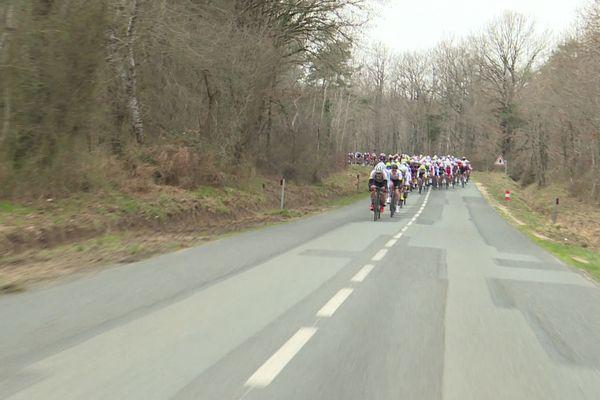 Le départ de la course a été donné à 13h30.