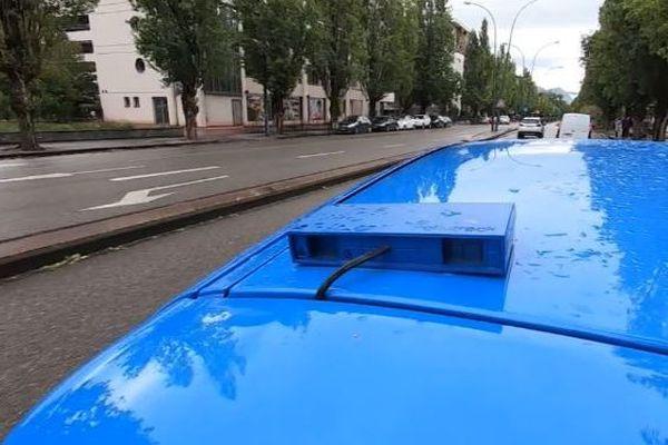 70 voitures Enedis ont été équipées de capteurs à Annecy.