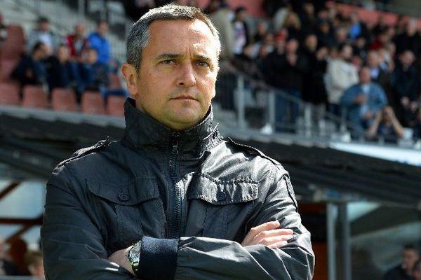 Jean-Luc Vannuchi, entraîneur de l'AJ Auxerre