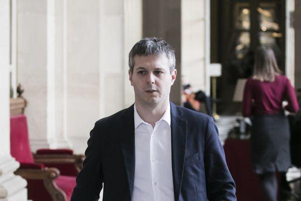 Le député du Cher Loïc Kervran (Agir) a reçu des menaces de mort / © VINCENT ISORE / MAXPPP