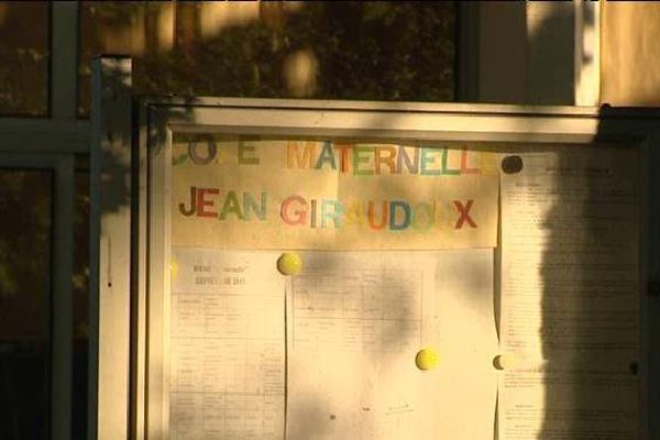 Les faits ont eu lieu à l'école maternelle Jean-Giraudoux de Bellac, en Haute-Vienne (image du 4 septembre 2015).