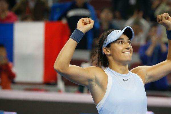 La lyonnaise Caroline Garcia remporte le tournoi de Pékin