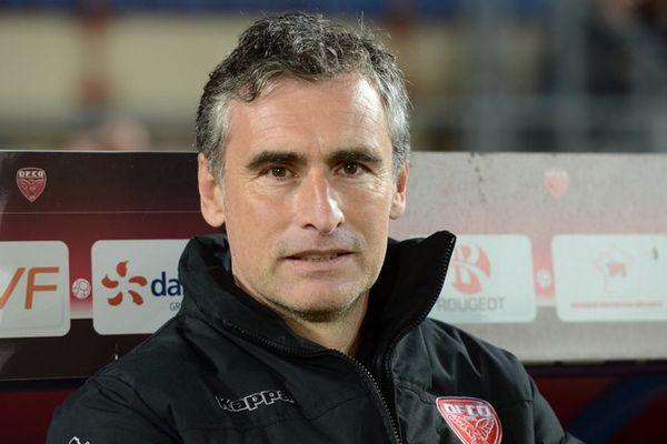 Olivier Dall'Oglio, l'entraîneur du DFCO.