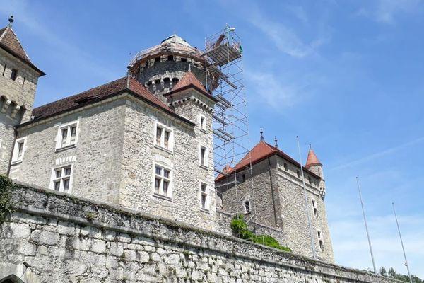 Le château de Montrottier, à Lovagny en Haute-Savoie.