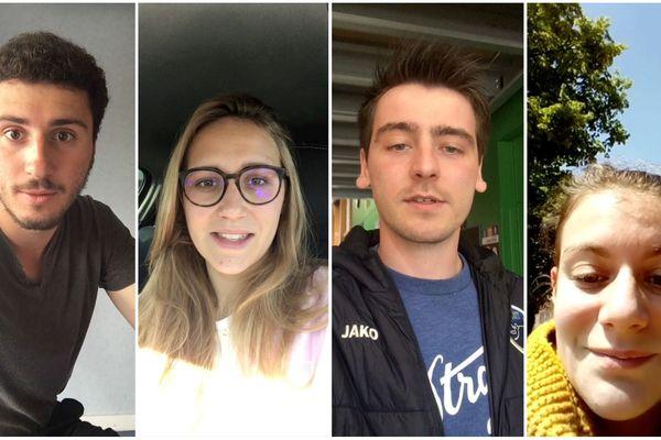Nous avons laissé quatre apprentis nous raconter leur quotidien en selfie.