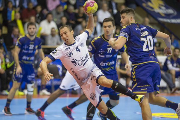 Matthieu Drouhin, capitaine du Saran Loiret Handball.