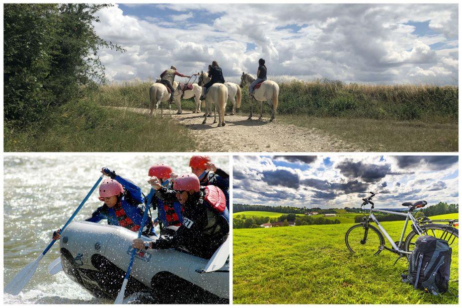Idées de balades à vélo, à cheval, sur l'eau, dans les airs... Découvrez notre sélection en Bourgogne