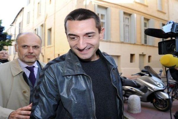 Montpellier - Dragan Gajic arrive au palais de justice de Montpellier - 16 octobre 2012.