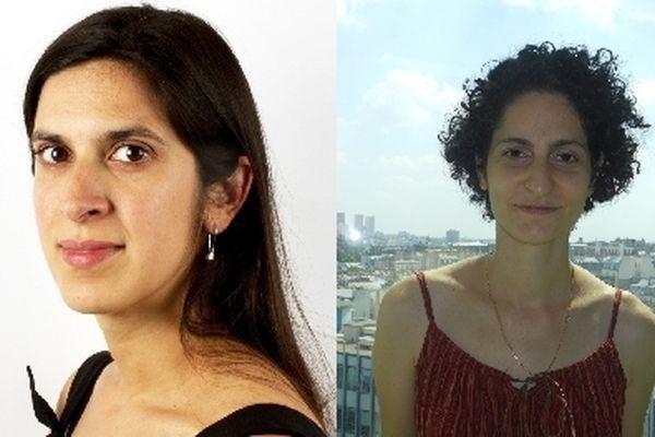 Les mathématiciennes Nalini Anantharaman (à gauche sur la photo) et Sylvia Serfaty ont reçu le prix Henri Poincaré