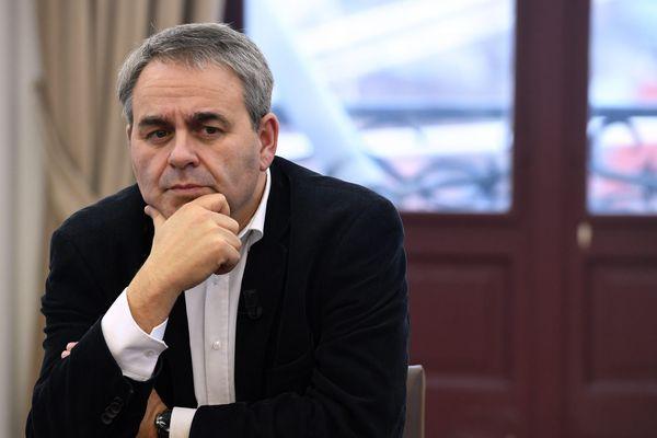 Xavier Bertrand, président de la région Hauts-de-France et candidat aux élections présidentielles.