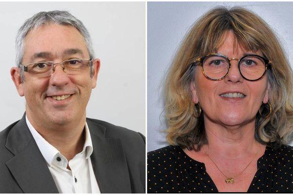 Philippe Gautier (LR) et Claude Françoise Saumier (DVG) sont les deux candidats en lice pour le second des élections municipales à Valentigney