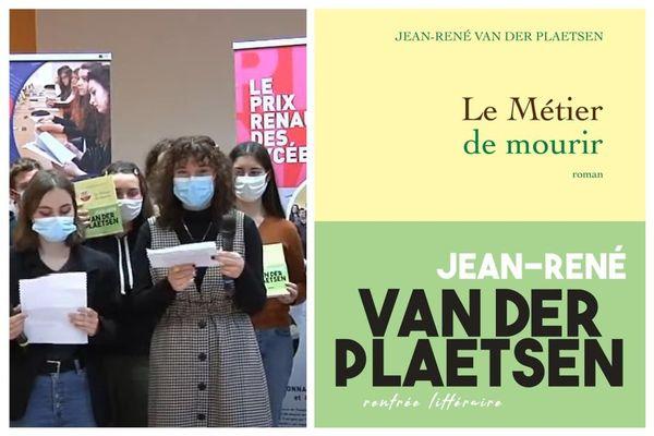 """Le prix Renaudot des lycéens 2020 a été attribué à Jean-René Van der Plaetsen pour son roman """"Le métier de mourir""""."""