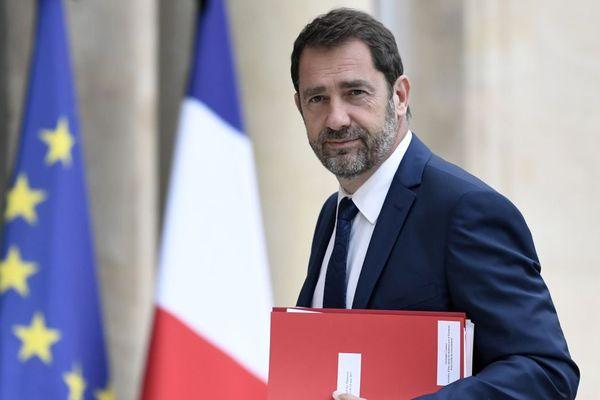 Christophe Castaner, porte-parole du gouvernement, à l'Elysée le 24 mai 2017