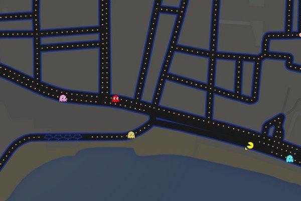La Croisette de Cannes version Pac-Man !