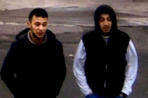 Salah Abdeslam et Hamza Attou, le 14 novembre 2015. Images de vidéosurveillance.