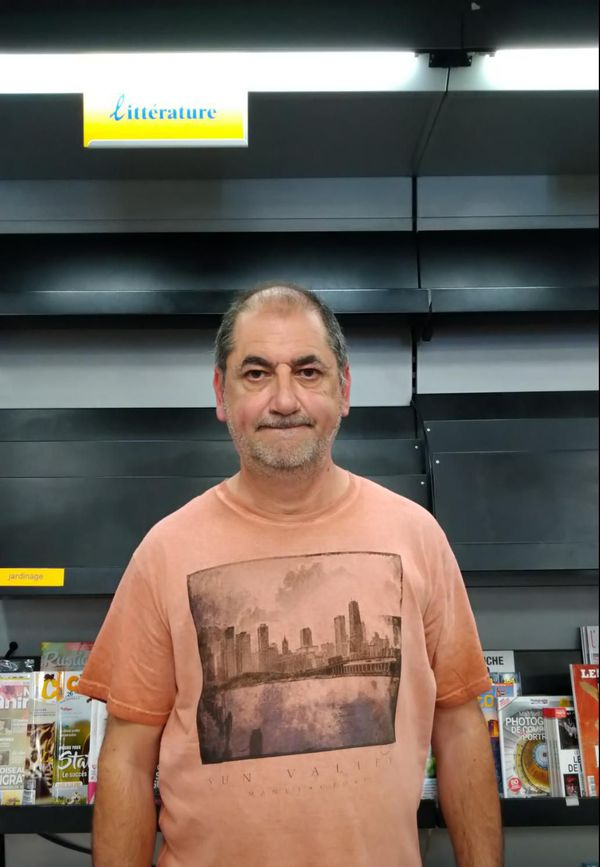 Richard Benvenuto, marchand de journaux
